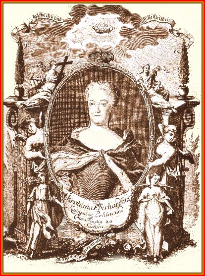 Queen Eberhardine, wife of Elector August the Strong