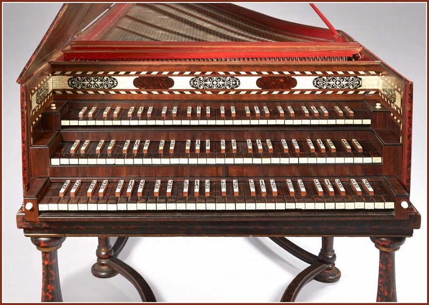 Baroque German Harpsichord