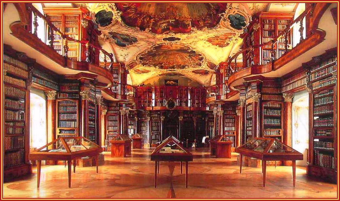 Library of the Monastery, St Gallen, Switzerland