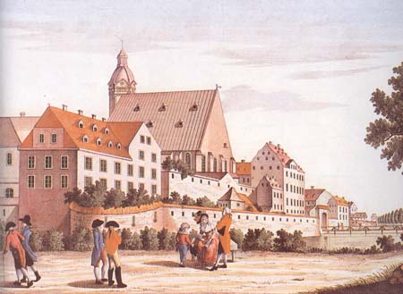 Baroque Leipzig, walk outside city wall