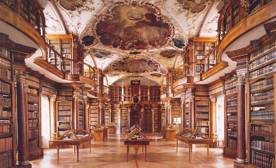 Image result for baroque library