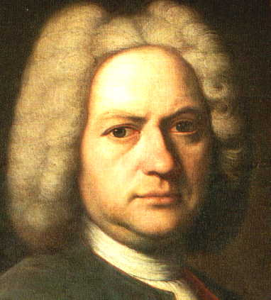 Bach Portrait at Age 35